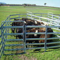 Livestock product type and horse type yard panel fence for horse cattles panel rail