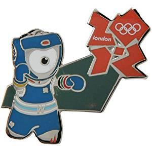 Olympics London 2012 Olympics Mascot Boxing Pin