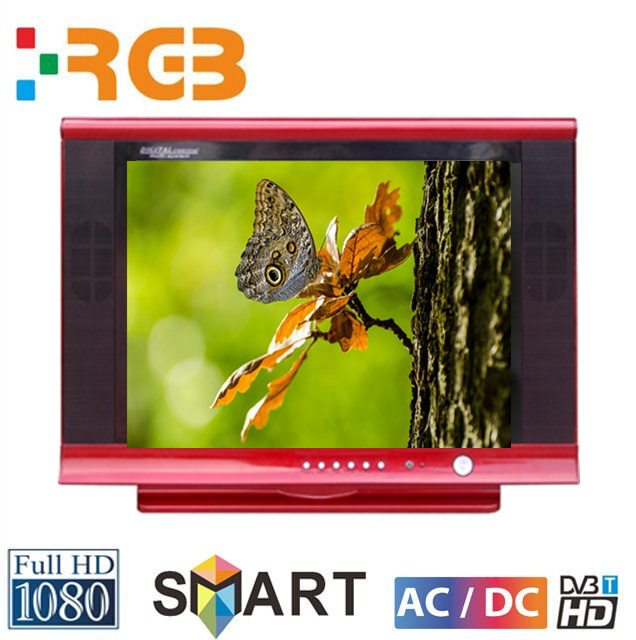 RGB mini 14 inch crt tv with dvd player usb for crt tv