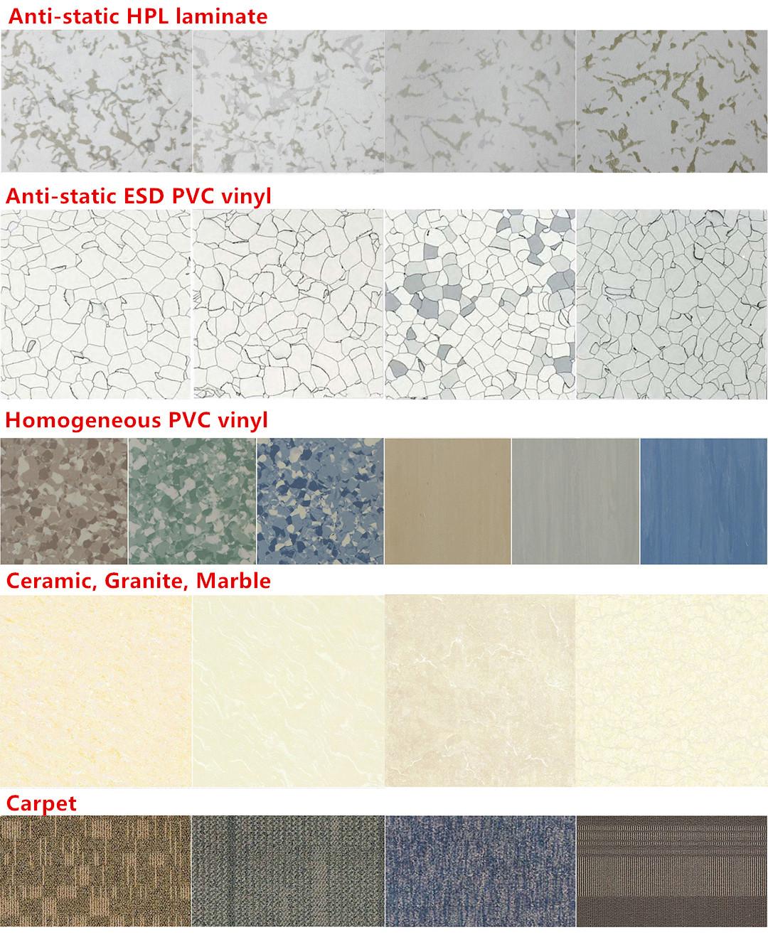 Tate Asp Mero Lindner Kingspan Steel Encased Calcium Sulphate Raised Access Floor Panel Tile Detail System