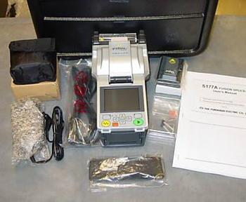 furukawa fitel s177a fusion splicer kit with cleaver battery pack rh alibaba com