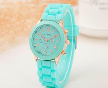 Macaron Geneva ceramic watch Macaron colors wristwatch for women kids student men fashion watch 2019