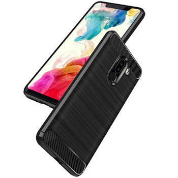 sale retailer 597f6 d768b Carbon Fiber Tpu Case For Xiaomi Pocophone F1 Rugged Cover - Buy Case For  Pocophone F1 Gel Case For Pocophone F1,Cover For Xiaomi Pocophone F1,Rugged  ...