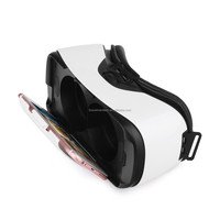 "Full Viewing VR 3D Glasses Virtual Reality 3D Movies Games Glasses Box for 4.7"" - 5.7"" Smartphone"