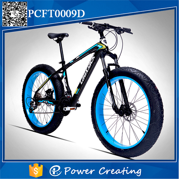 Natural Material Painted Fat Tyre Bike 48 Spokes Bicycle With Factory Price