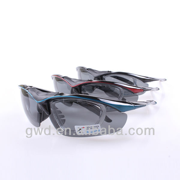 2016 Promotion Fashion Cycling Glasses with interchange lens