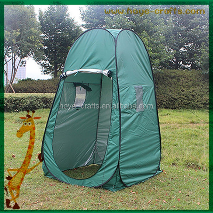Outdoor 1-2 Person Steel Wire Pole Changing Room Tent Quick To Open ...