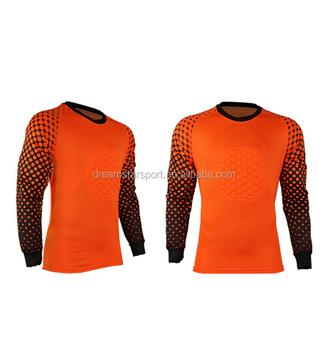 0c136ecb5 Orange Best Quality Goalkeeper Jersey For Soccer - Buy Goalkeeper ...
