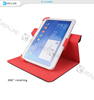 360 degree rorating universal case for 7-8inch ,9-10inch tablet ,for ipad air 2 case