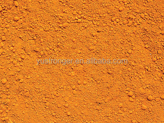 Pigment raw materials iron oxide orange 365 960 2040