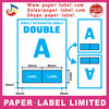 A4 INTEGRATED INVOICE PAPER PEEL OFF STICKY LABEL