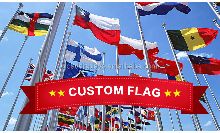 Custom canadian flag 4 x 8ft flag and banners printing