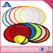 promotional fold up round nylon folding fan