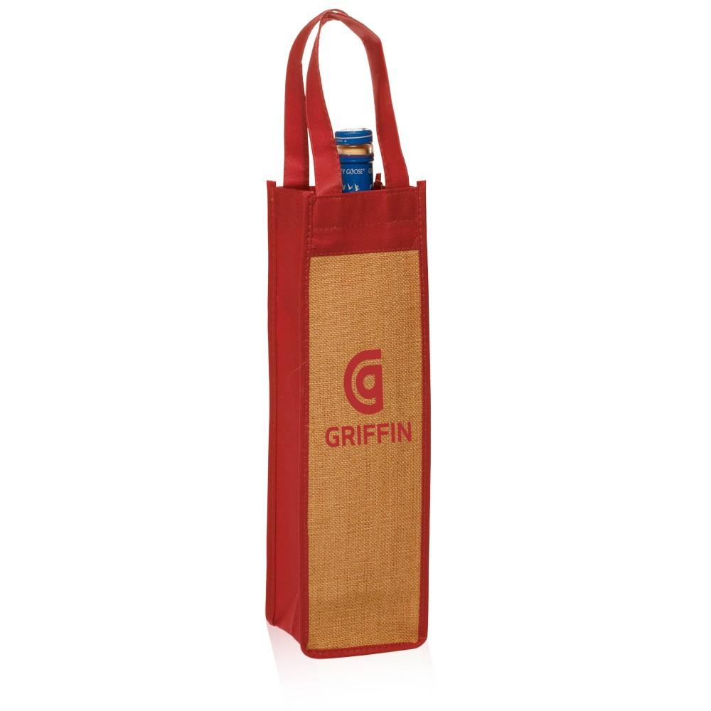 Beegreen wholesale gsm nonwoven bottle wine gift bag