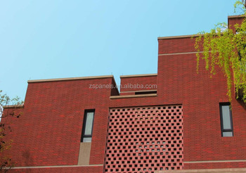 Acoustic Insulation Terracotta Brick Tile For Exterior Wall,Eco ...