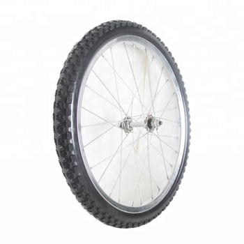 "6""-26"" Solid PU Rubber Puncture Proof Bicycle Tyres Bike Tires"