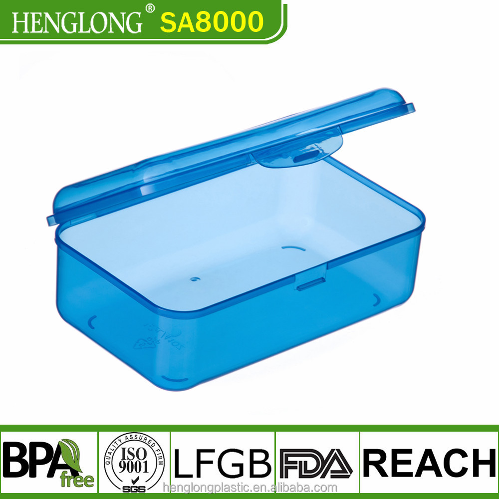 Rectangular Handy Storage Boxes Snap On Lid Brand New
