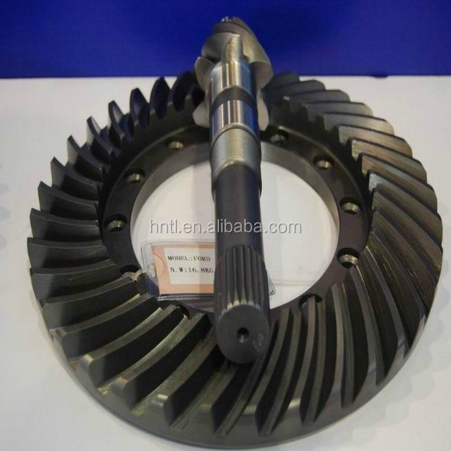 High Quality Truck Parts Axle Crown Wheel and Pinion Bevel Gear Manufacture