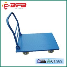 Aluminum Hand Trolly For Warehouse Light Production