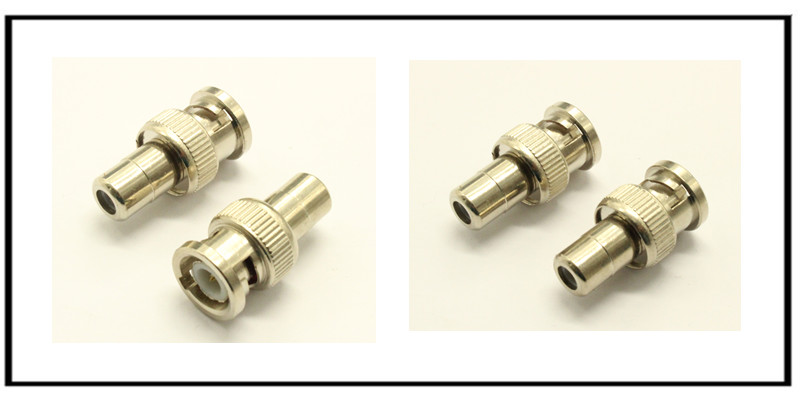 Male BNC to Female RCA adapter connector for CCTV Security