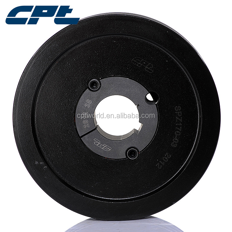 ISO9001 certified SPZ 3 grooves drive pulley #SPZ-03