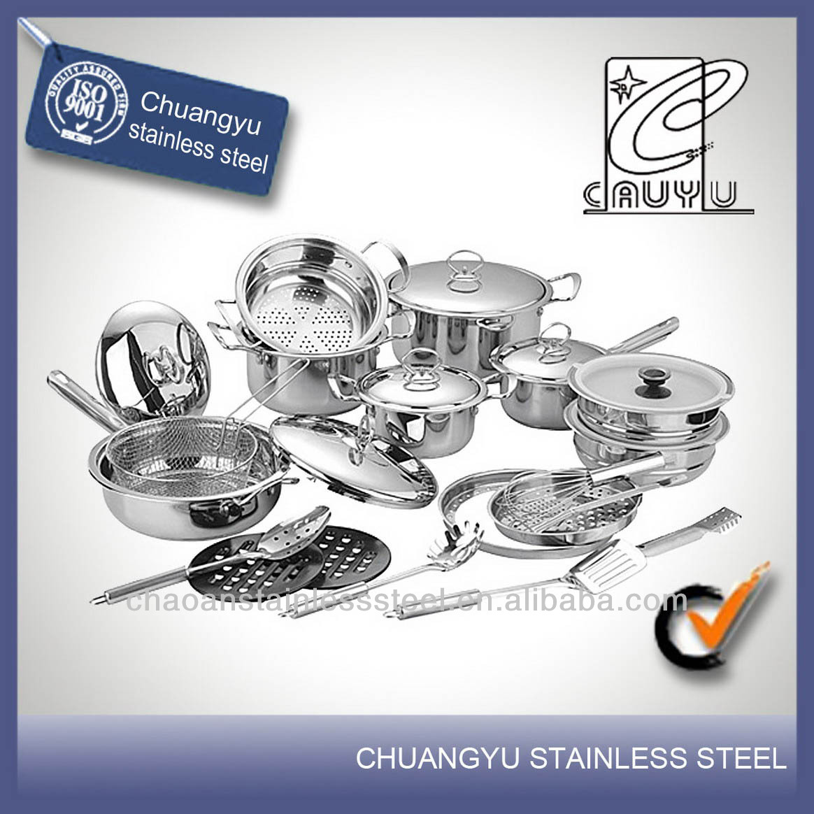 Well equipped super capsule bottom cookware sets kitchen