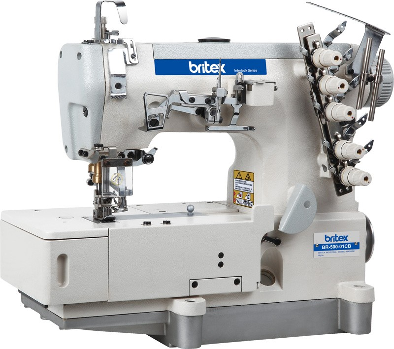 500-01cb High Speed Flat Bed Industrial Interlock Sewing ...