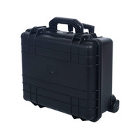 Hard Waterproof Tool Case Wheel Trolley Military Tool Case For Camera and Accessories