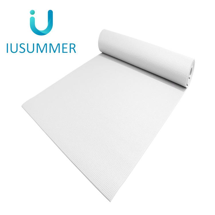 Wholesale Custom White Yoga Mat