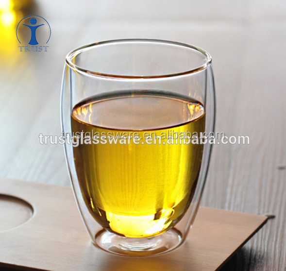 China Factory Wholesale Unique Shaped Home Goods Double Wall Water Drinking <strong>Glass</strong>