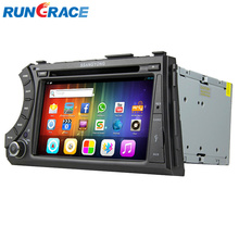 Double din Ssang yong acyton/kyron carro dvd player com GPS
