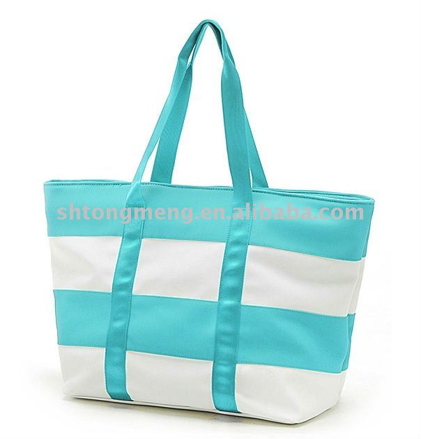 Oxford Tote Bag with Main Compartment