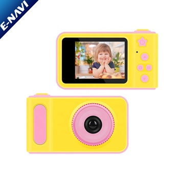 Best New Child Cartoon Small Toy 1080P Children Game Kids Digital Camera for Birthday Party Christmas Gift