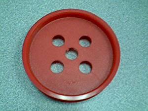 1993 Video Technology Electronics LTD. Mitsubishi Pencil Co., LTD. VTECH Play Tech Motorized Capsela Red Wheel (Large Version) (One Spare Piece)