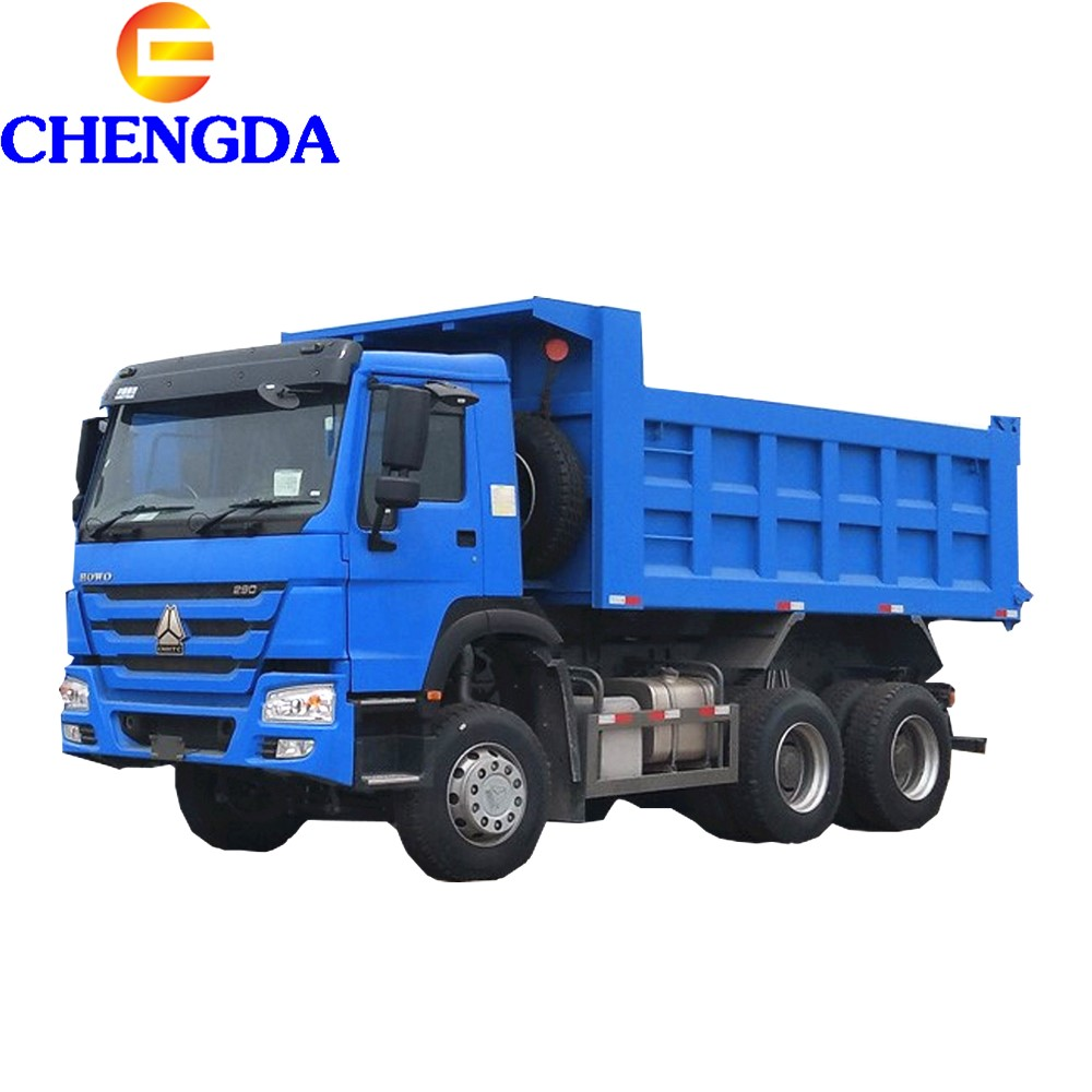 China 10 Wheel New Dumper Truck Price 371HP 20 Cubic Meters Sinotruk HOWO Tipper Dump Truck For Sale