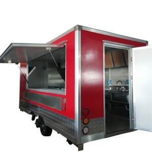 High-quality custom mobile street electric fast food truck for ice cream tricycle sale