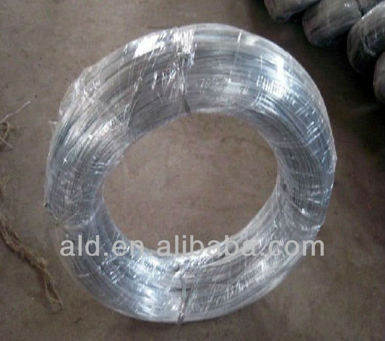 China Anping wire of hot dipped galvanized galvanized wire rope
