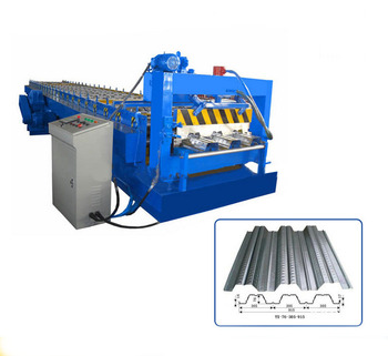 Floor decking roll forming machine container house profile