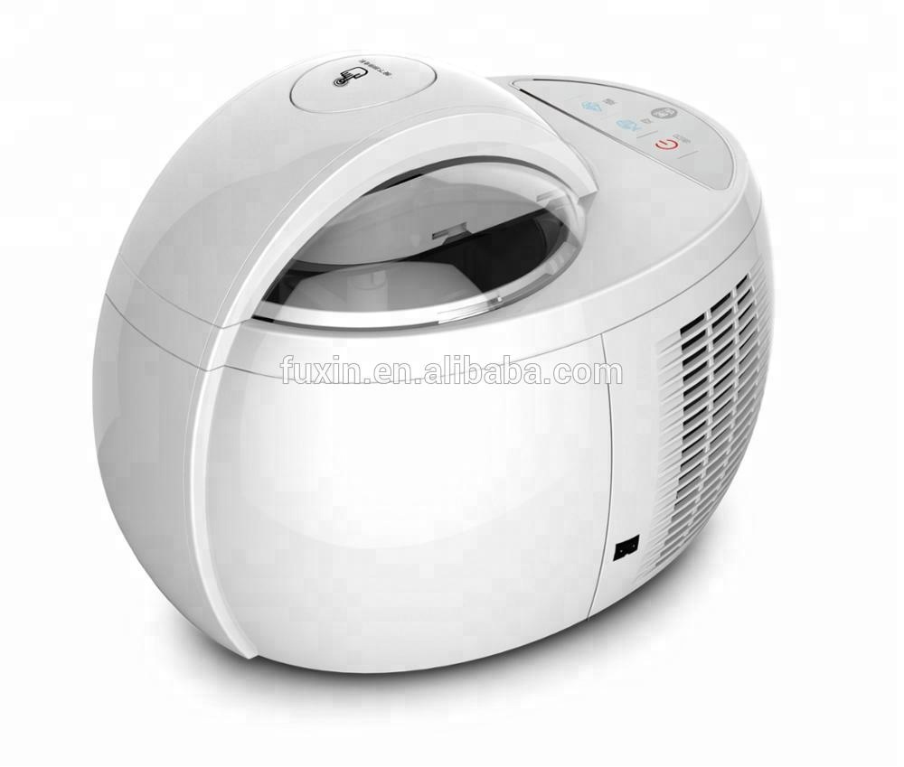 Smart Thermoelectric Ice Cream Maker with Different Plastic Ice cream Scoop Color