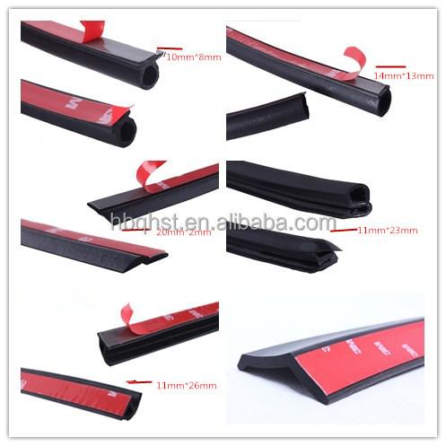 epdm schuim rubber beschermende seal strip met 3 m lijmen. Black Bedroom Furniture Sets. Home Design Ideas
