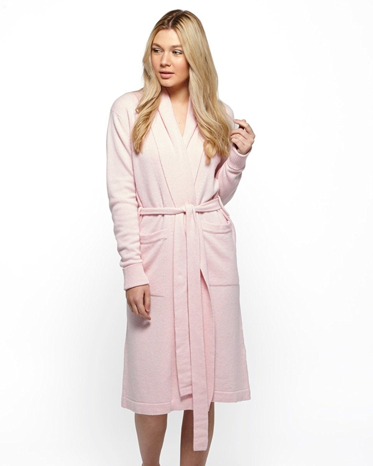 Cashmere Merino Dressing Gown