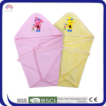 Baby Terry Cloth Blanket Cute Portable Blanket