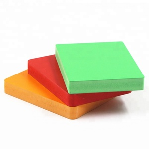 china factory hot sale 4X8 size colored pvc foam sheet