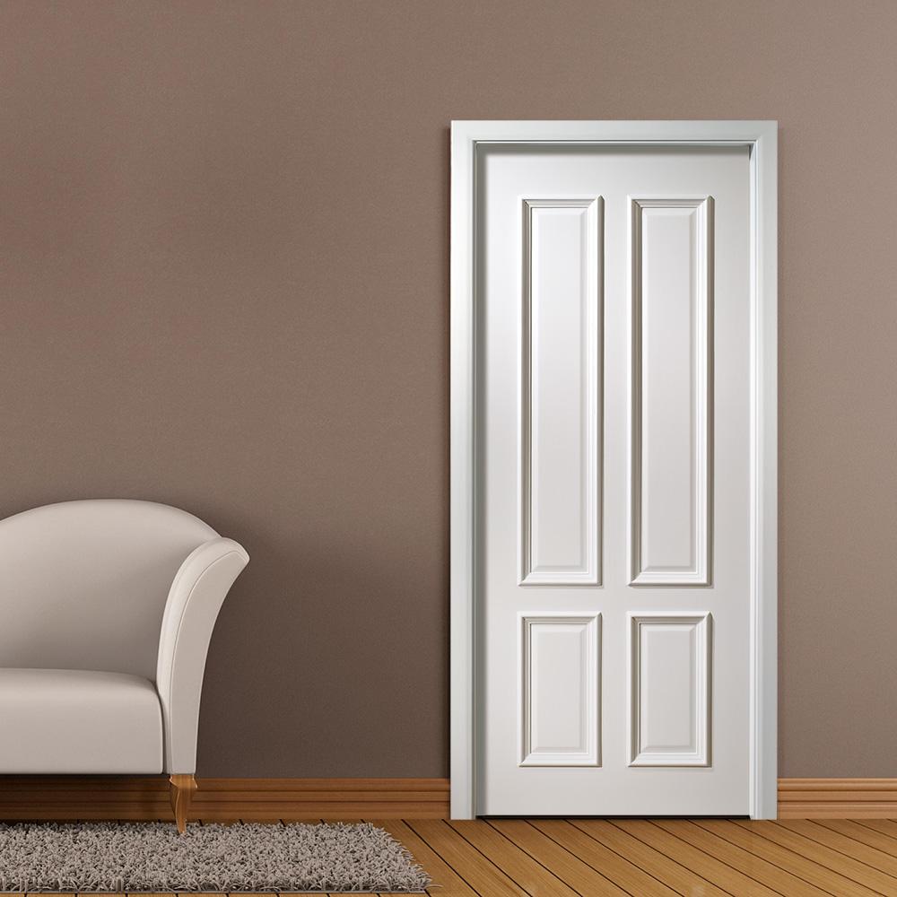 Peinture Blanche Panneau Porte En Bois Pour Porte De Chambre Froide - Buy  Porte De Chambre Froide,Porte En Bois De Panneau,Porte De Peinture Blanche  ...