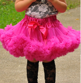 Baby Toddler Girls Pink Tutu Skirts Little Pettiskirt Twirly Skirt