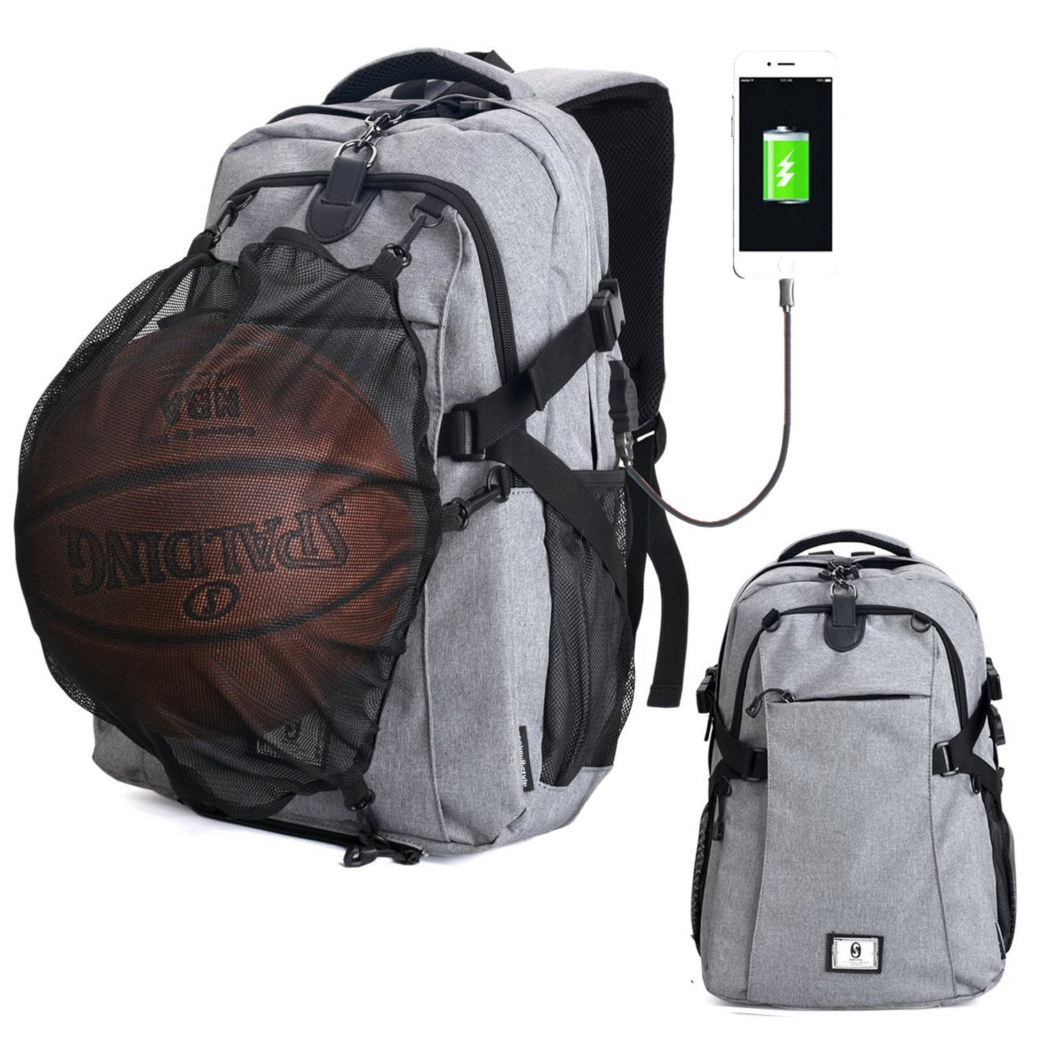 Get Quotations · G1-Tech Basketball Backpack 7bbcb2b65fbe3
