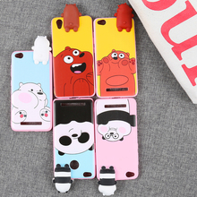 2017 hot seller Lovely Toys Cute 3D Cartoon Soft TPU Phone Case Cover for Huawei P7/P8/P9/P 8 LITE