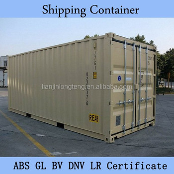Container Sea Freight From China To India 20ft Sea Box Container ...
