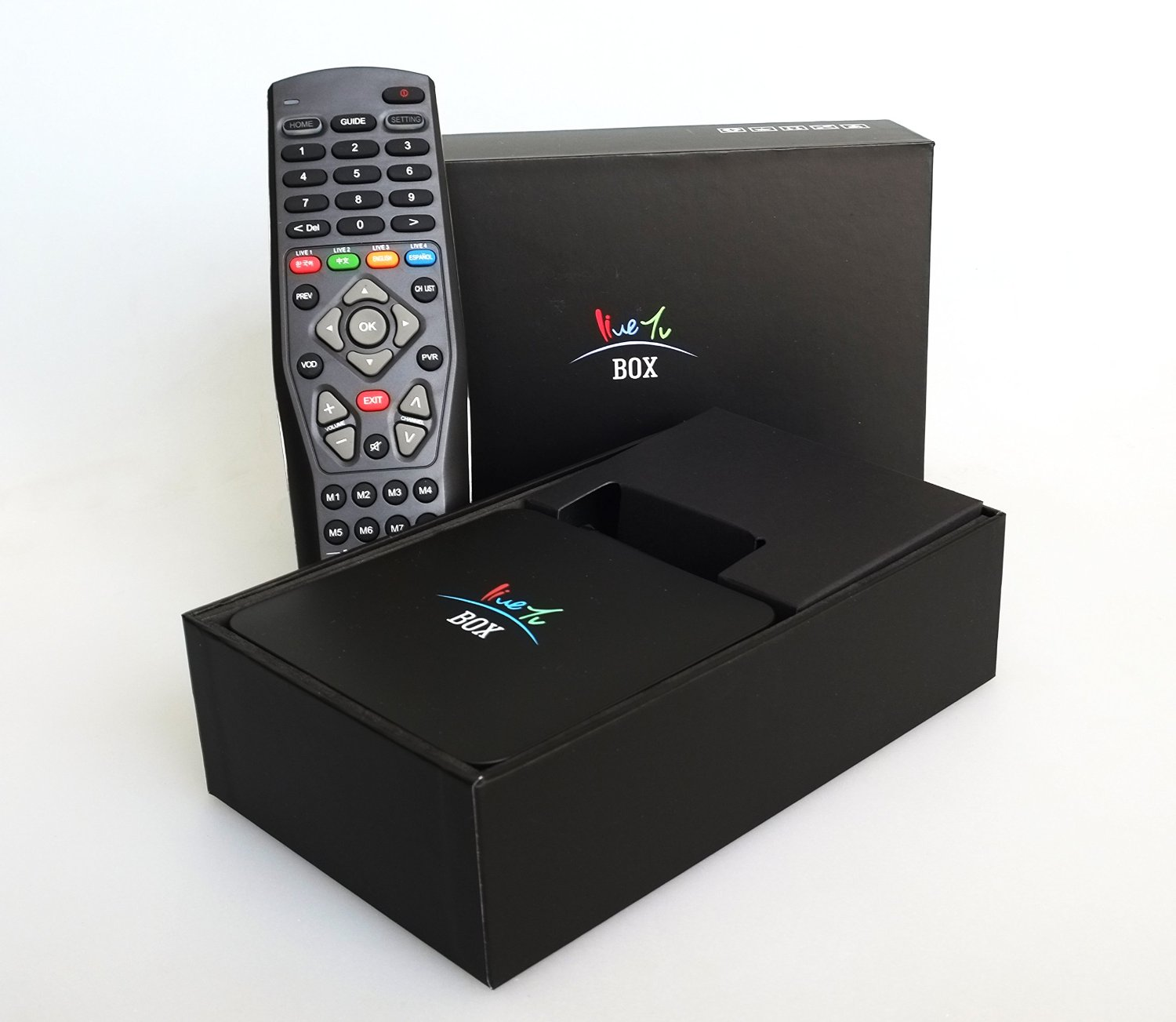Korean TV (2nd Generation) HomeTVBox Real LIVE Korean and English Channels Smart Media Player. NO Monthly Fee