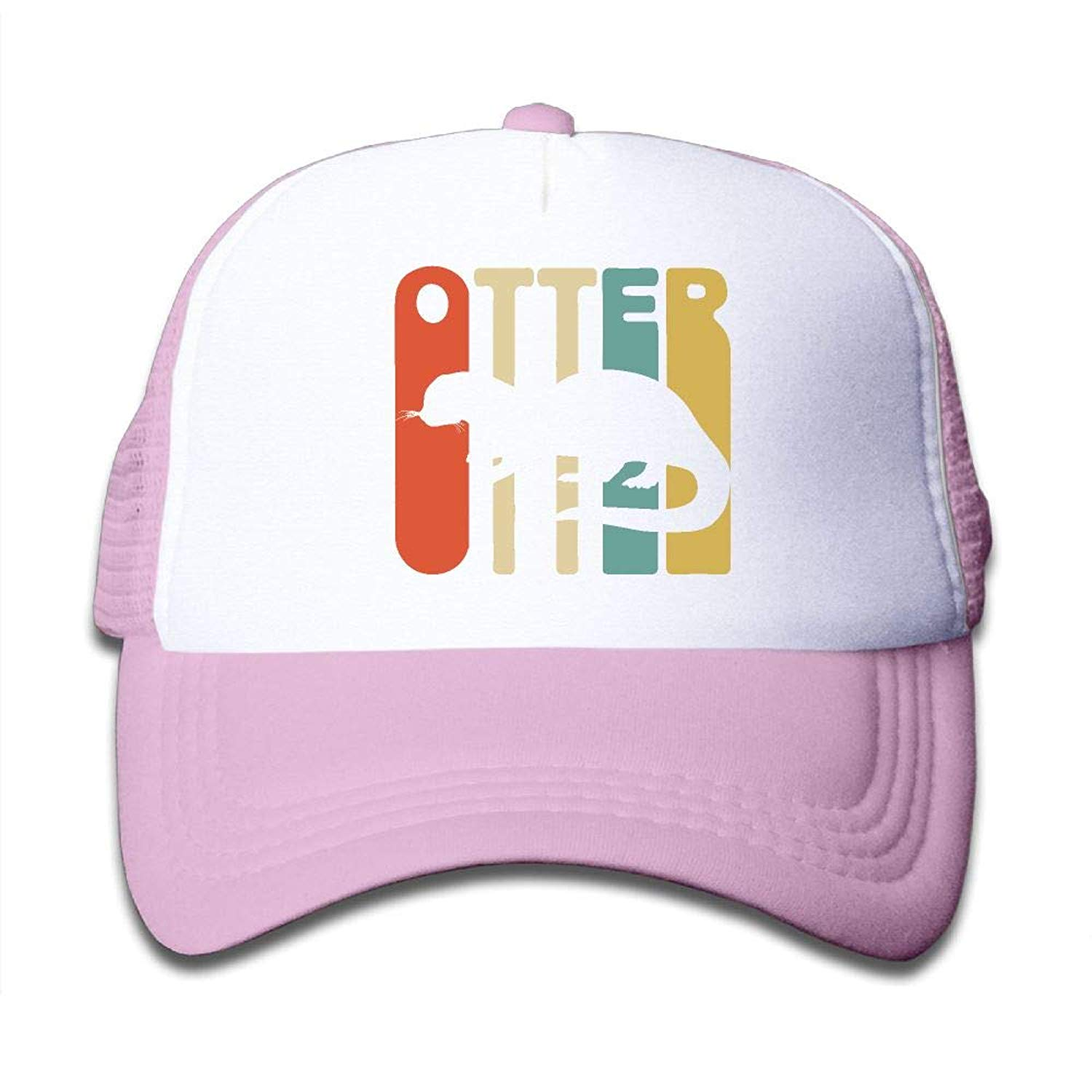 eabbaf6c66b Get Quotations · Vintage Style Otter2 On Boys and Girls Trucker Hat